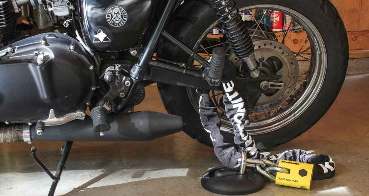 Motorcycle Anti Theft Lock - Tips to Stop Being Stolen - Anzap Web